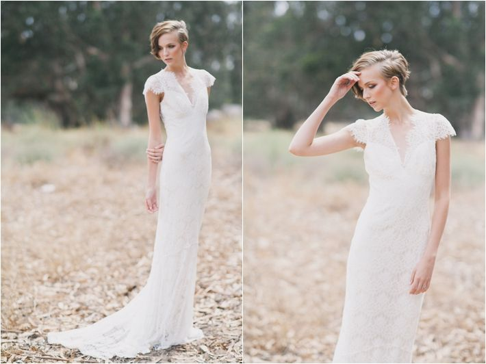 Claire Pettibone Romantique Estelle Wedding Dress Photographed By Alexandra Wallace And Featured On