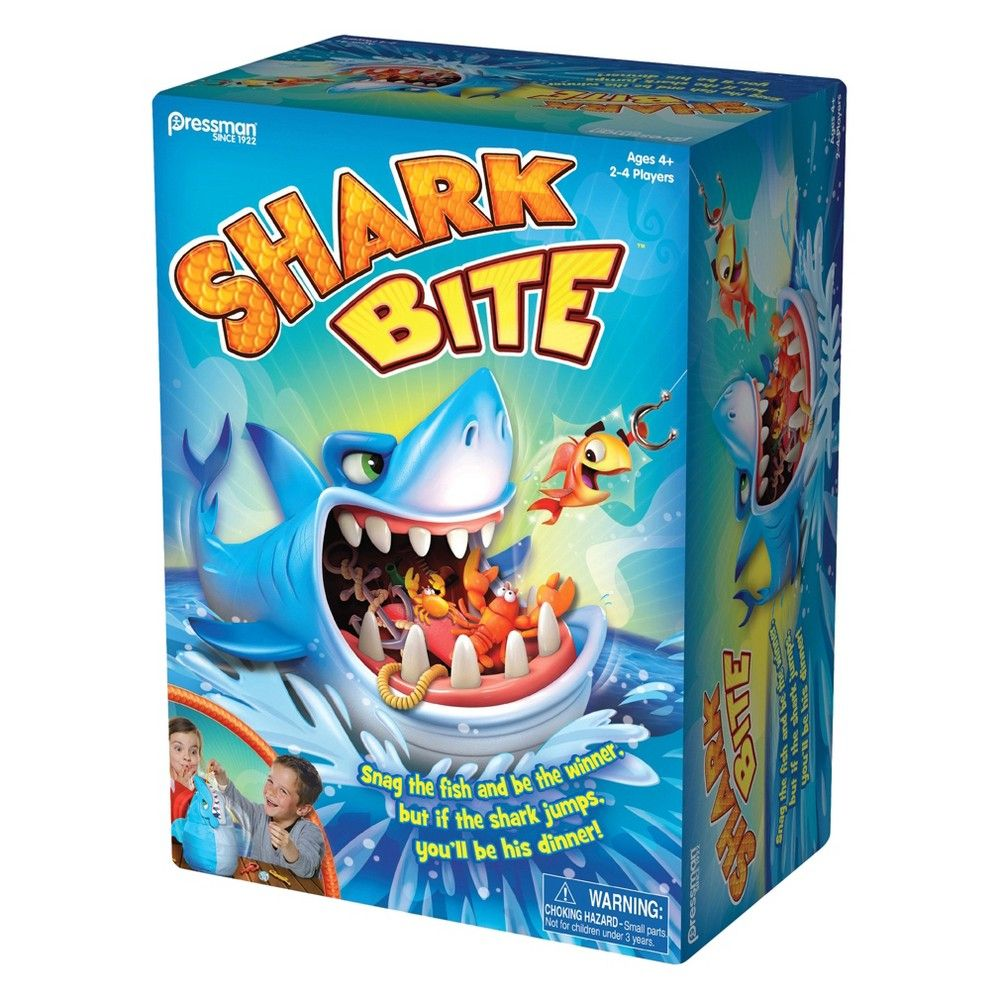 Shark Toys And Games : Shark bite board game games bites