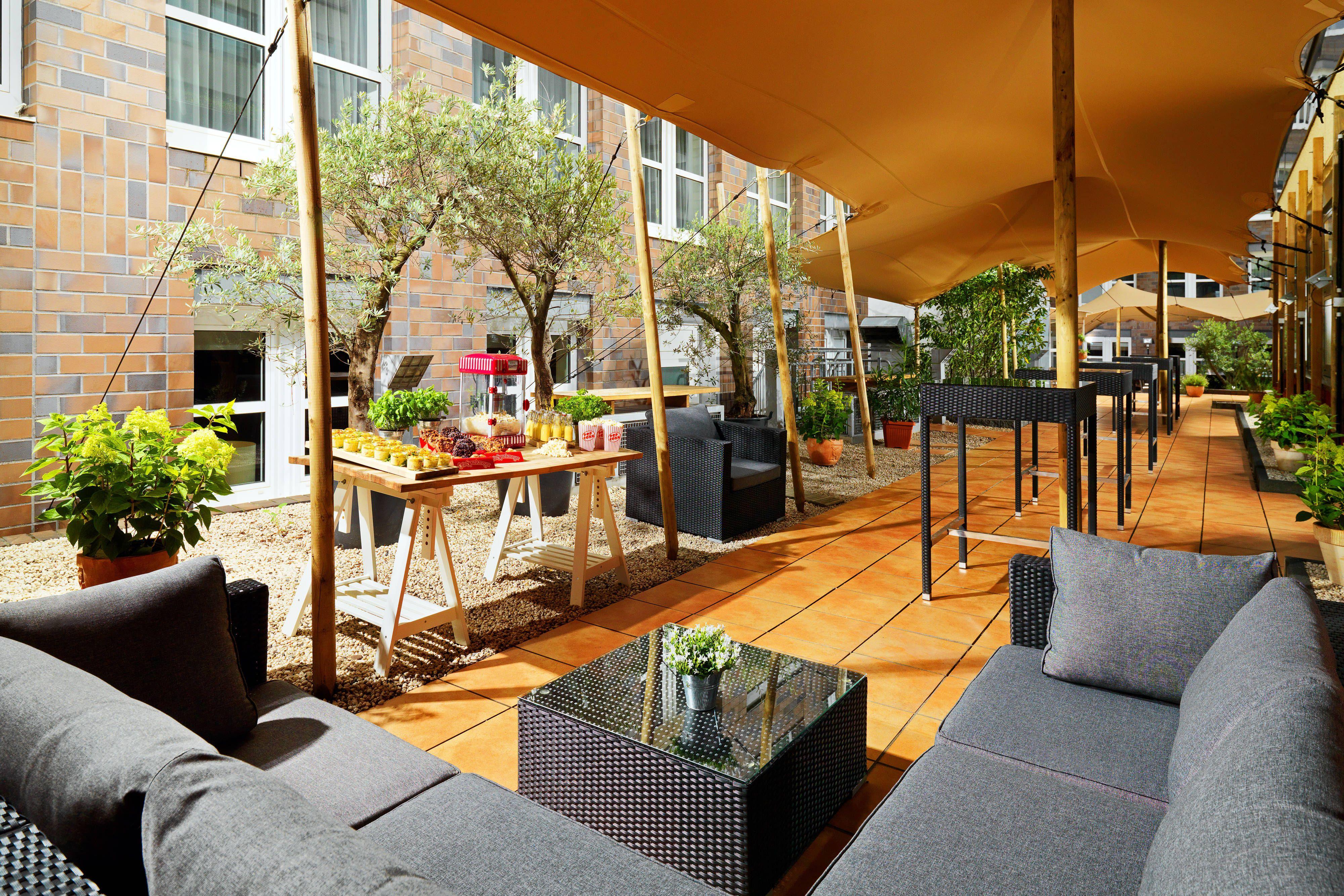 Cologne Marriott Hotel Brasserie Fou Lounge Hotel