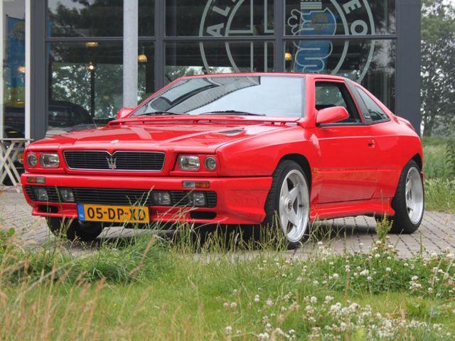 Unique of the Week: 1991 Maserati Shamal 3.2 Biturbo ...