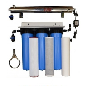High Flow Uv Water Filtration 20 5 Micron Sediment Prefilter 20 Carbon Block Prefilter 20 1 Micron Sed Water Filtration System Water Filter Water Filtration