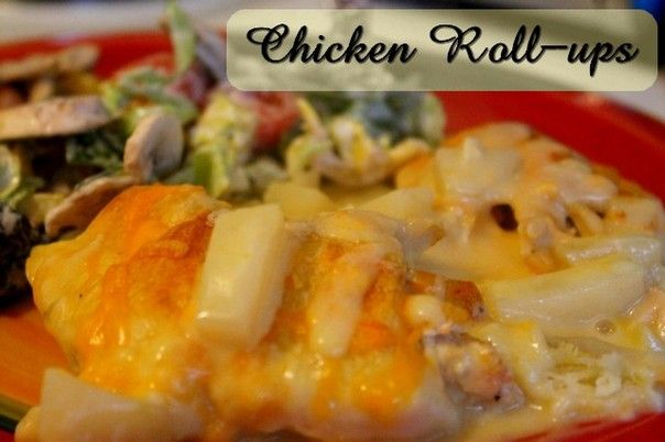 Chicken Roll-ups   http://www.momspantrykitchen.com/chicken-roll-ups.html