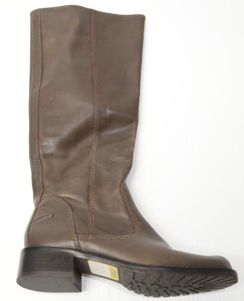 c7e8fb96a1 Crown Vintage Women's Distressed Faux Leather Calf High Boots Full Zip Size  7 #CrownVintage #boots | Women's Shoes | Boots, Shoes, Leather boots
