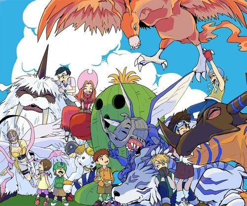 Digimon Adventure.