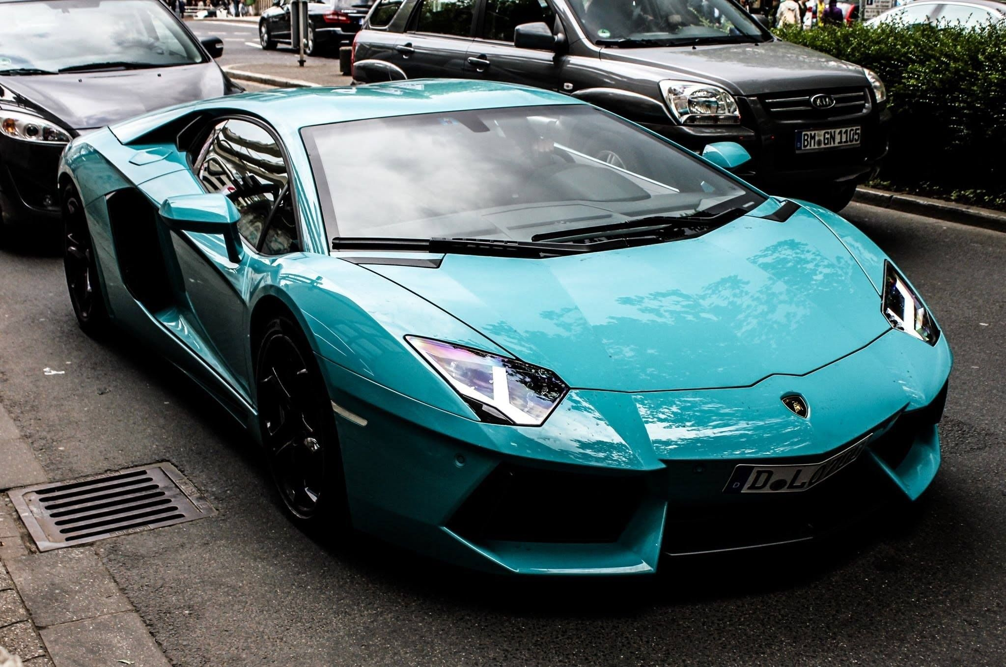 Turquoise Aventador Spectacular Sports Cars Pinterest
