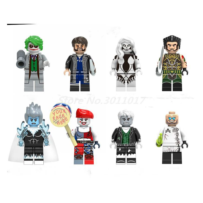 Wholesale Building Block 100pcs/lot Villain DC Super Heroes Bricks ...