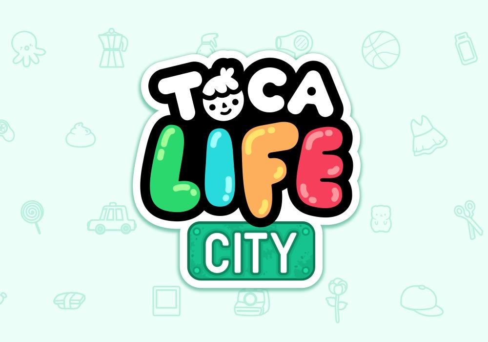 Toca Life City A New Way To Play Toca Boca Toca Boca Life Life Life Logo
