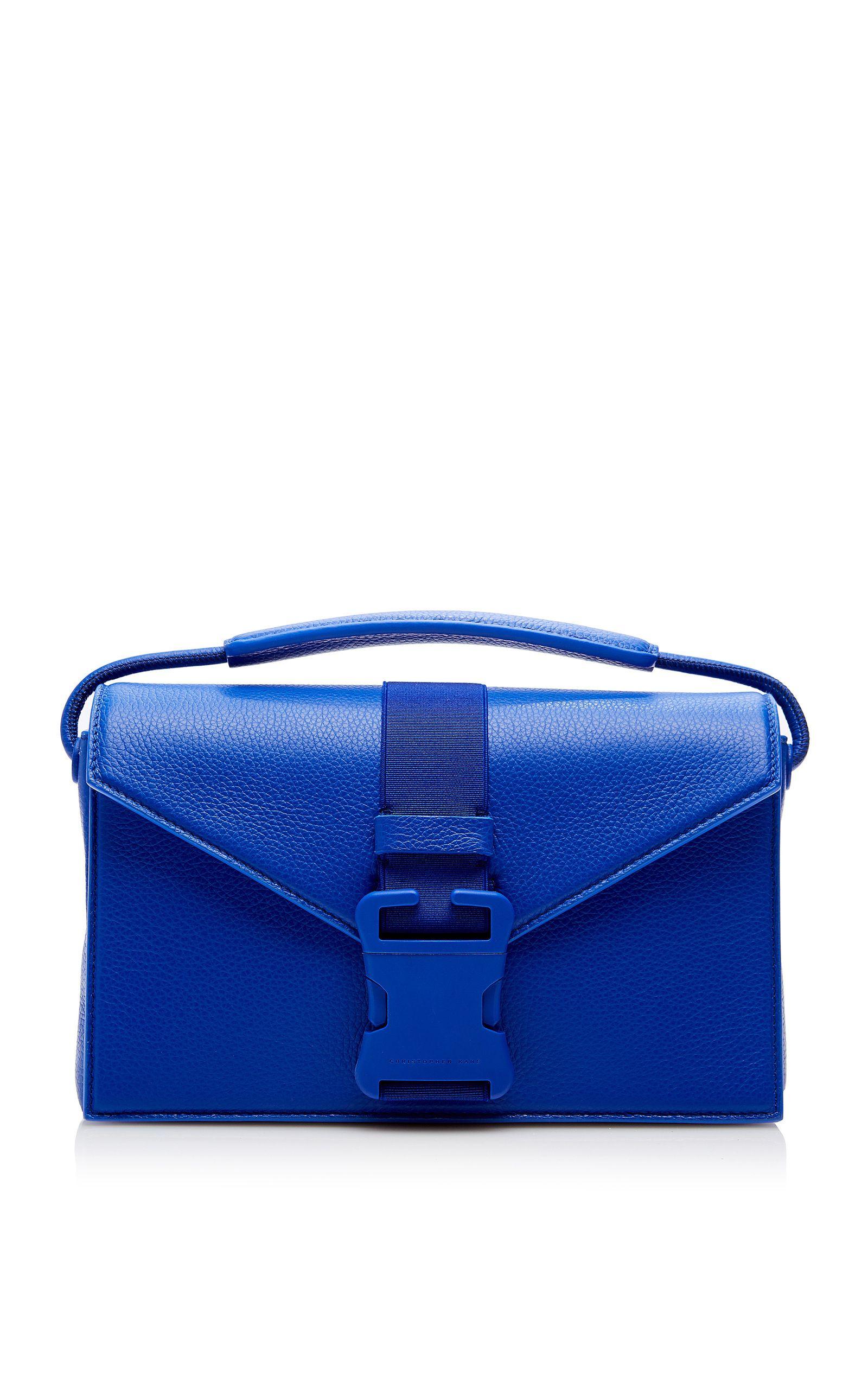 christopher kane grained leather divine og bag for bag lovers pinterest design bleu sac. Black Bedroom Furniture Sets. Home Design Ideas