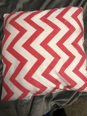 Pink Pillow Soft Plush Zig-Zag Throw Pillow Covers Home Decor. Small. #fashion #home #garden #homedcor #pillows (ebay link)