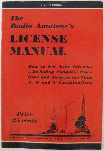 Details about The Radio Amateur's License Manual and How to