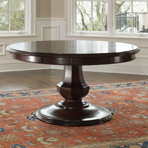 Brownstone Snj302 Sienna Dining Table Round Pedestal Dining Table Round Dining Table Pedestal Dining Table
