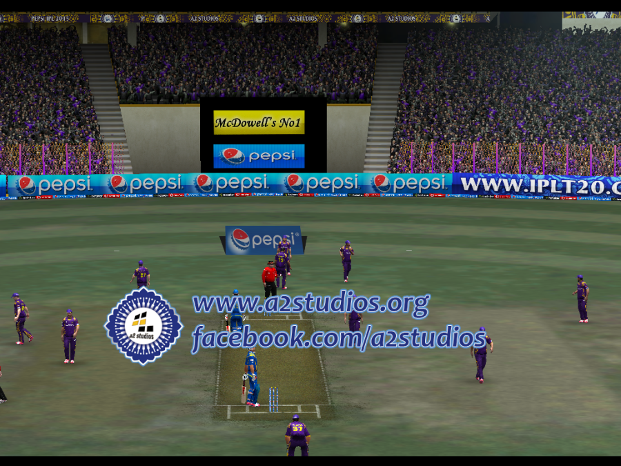 Pin On A2 Studios Pepsi Ipl 8 Patch 2015 For Ea Cricket 07
