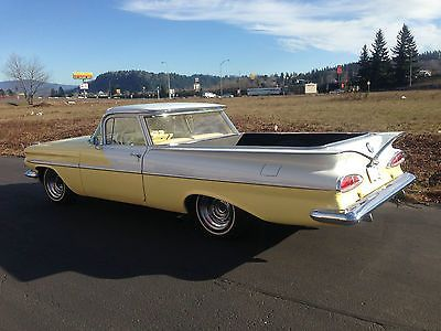 1959 chevy el camino for sale used chevrolet el camino for sale in gresham oregon usa. Black Bedroom Furniture Sets. Home Design Ideas