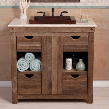 Vintner 36 Single Bathroom Vanity Base Only Bathroom Vanity