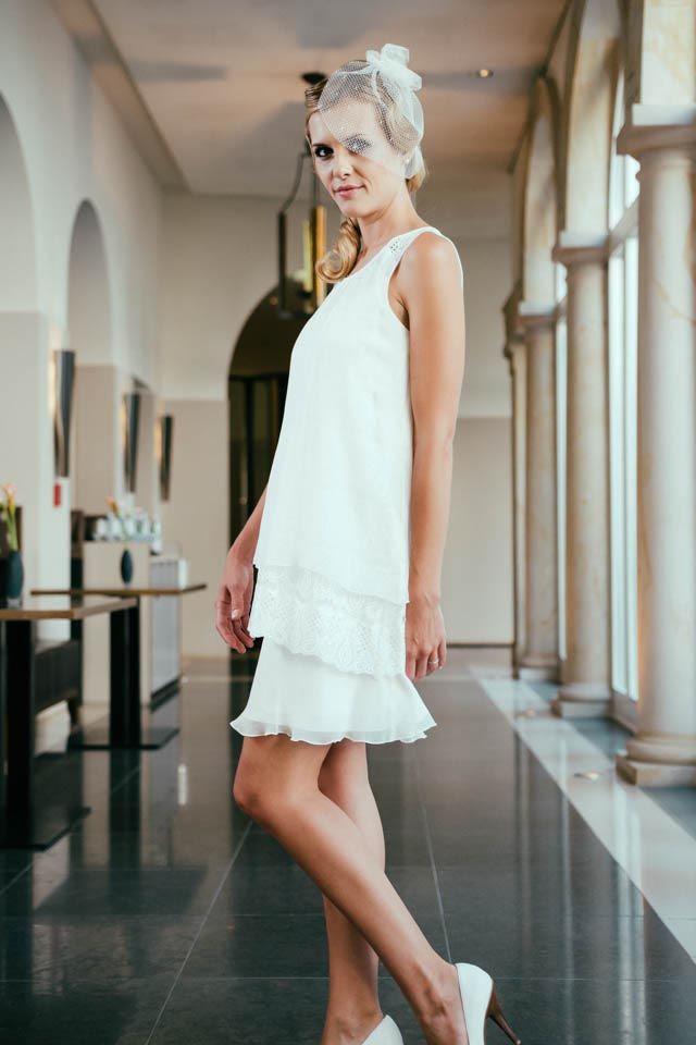 Juliette, unser Brautkleid 20er Jahre, liegt voll im Trend und ist ...