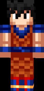 Son goku minecraft skin (com imagens) | Skins para minecraft, Goku,  Minecraft