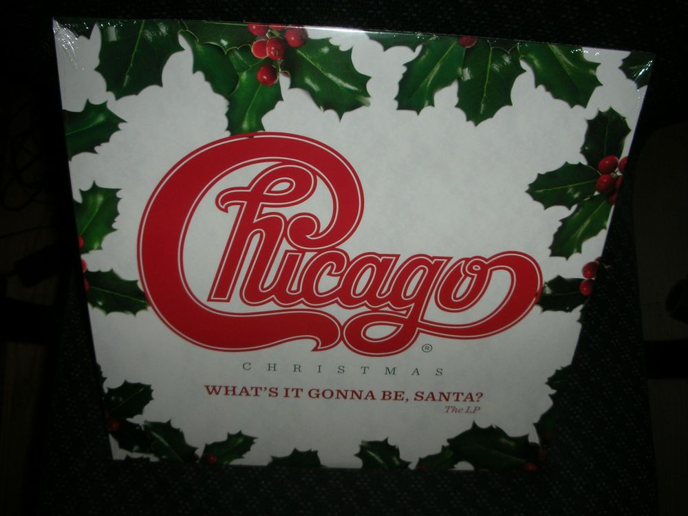 Chicago Chicago Christmas What S It Gonna Be Santa New Record Lp Vinyl Chicago Christmas What S It Gonna Be Lp Vinyl