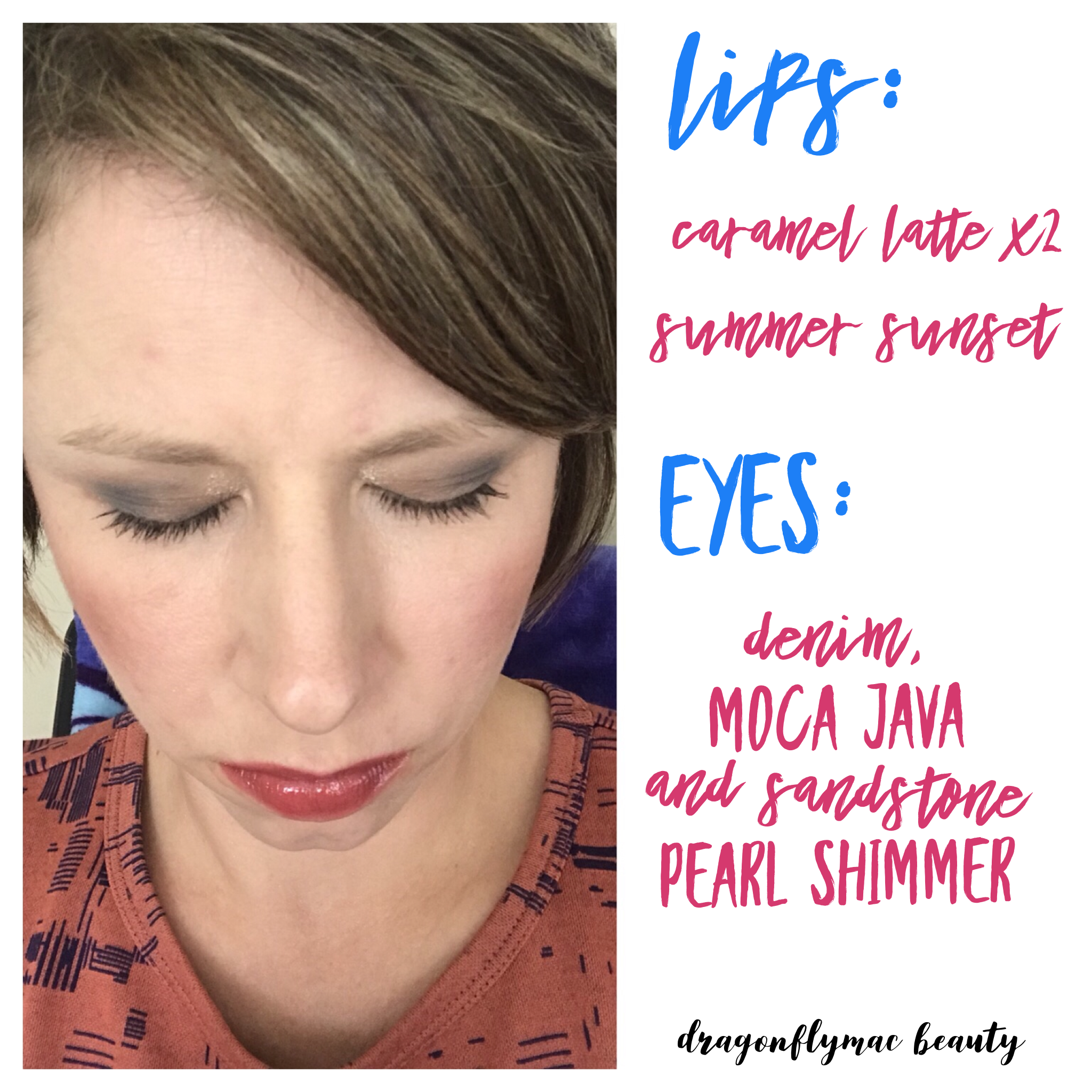 Easy everyday makeup look senegence lipsense summerlook