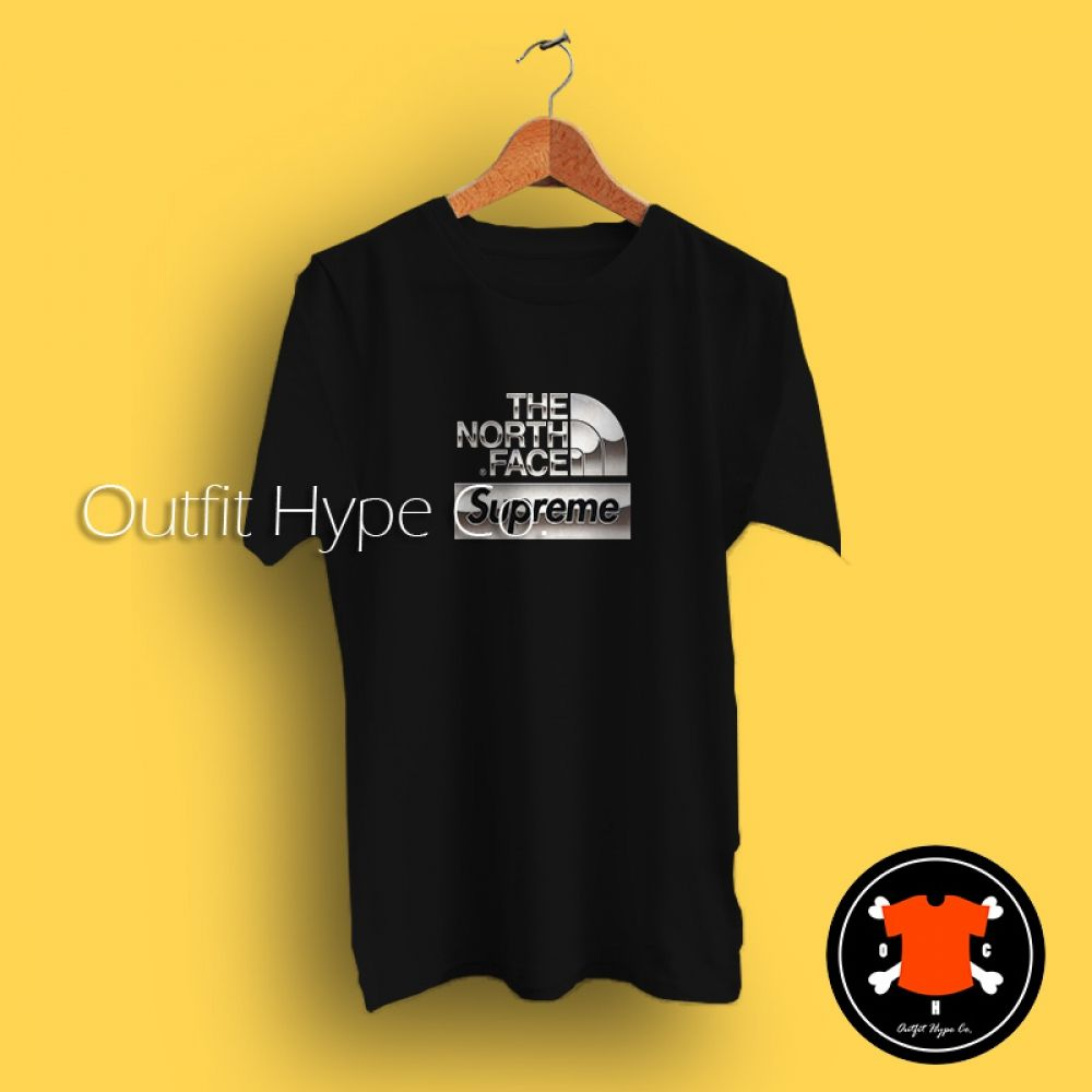 3e635771 Supreme x The North Face Metallic T Shirt #outfit #hypebeast #OutfitHype # Streetwear #Outfits #UrbanSteetwear