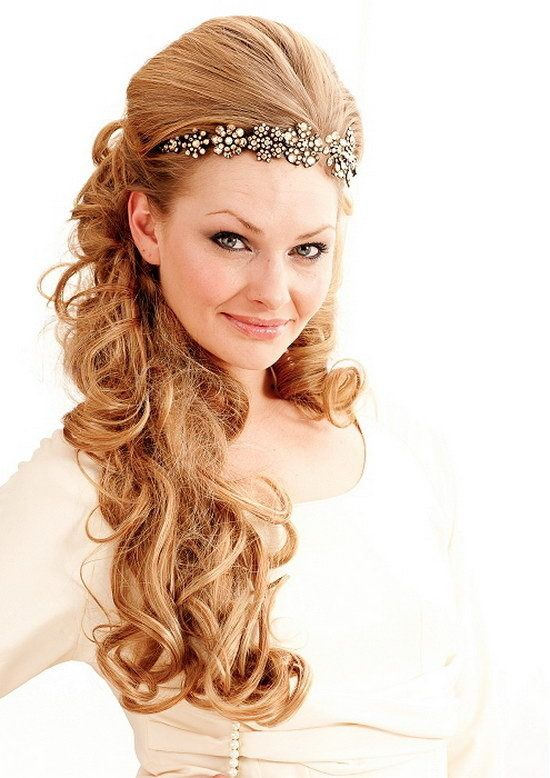 cocktail party hairstyles (1) | Wedding hairstyles for long hair, Long hair styles, Hair styles