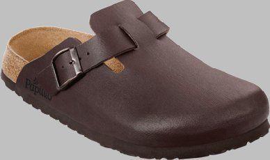 Papillio clogs Boston from Birko-Flor in Denim Brown Jeans with a narrow insole size 38.0 N EU Papillio. $56.19. Birko-Flor