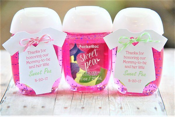 Baby Shower Thank You Gift Different Scents Of Hand Sanitizer