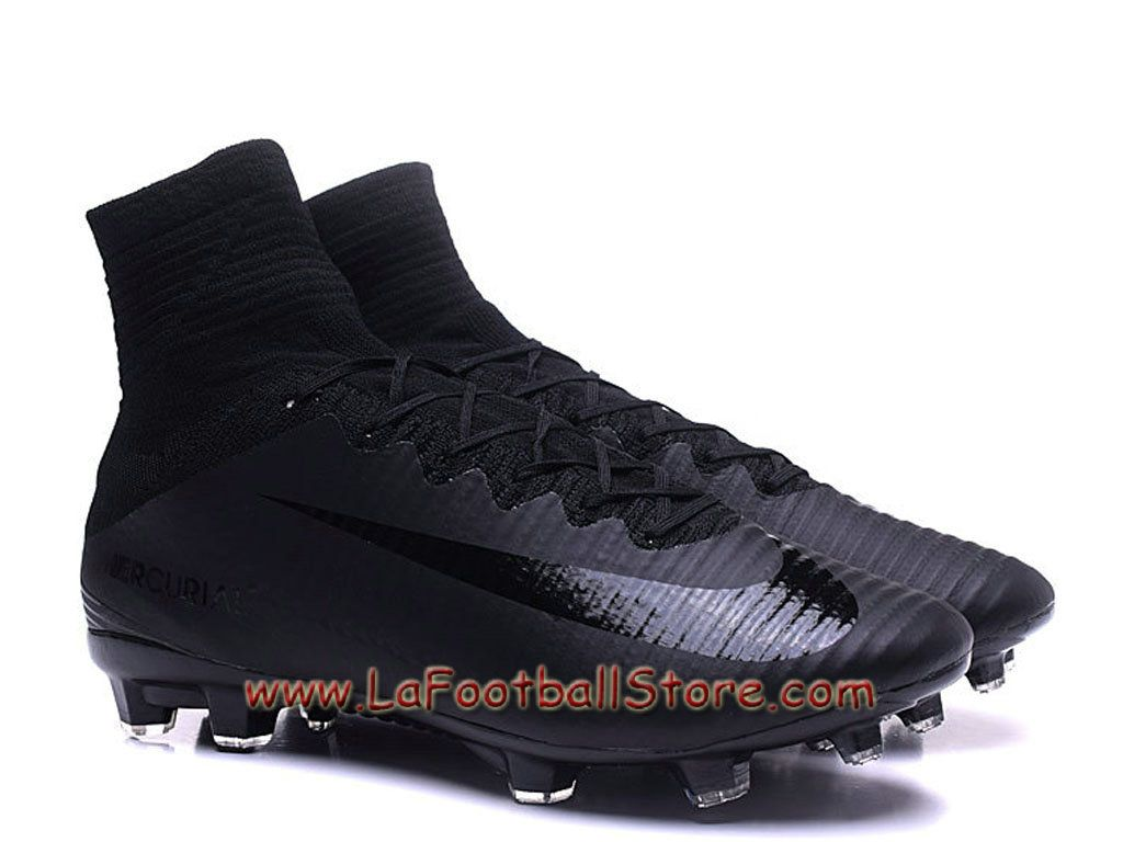 online retailer b3fdd 90022 Nike Mercurial Superfly V FG Pas cher Chaussure de football à crampons pour  terrain sec pour Homme Black - 831940ID2 - Boutique Chaussures De Foot ...