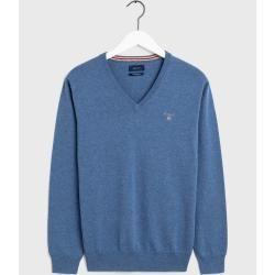 Photo of Gant V-Neck Sweater (Blau) GantGant