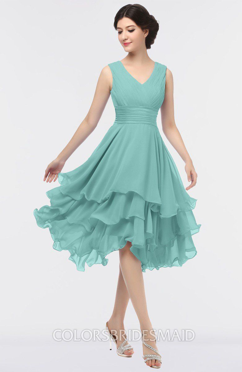 ColsBM Grace Eggshell Blue Bridesmaid Dresses Wedding dresses