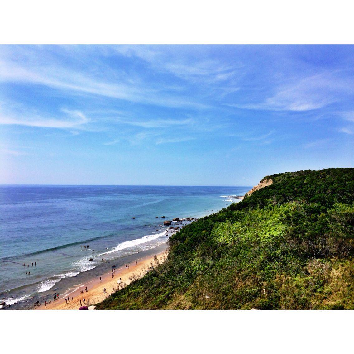 Mohegan Bluffs Block Island, Rhode Island