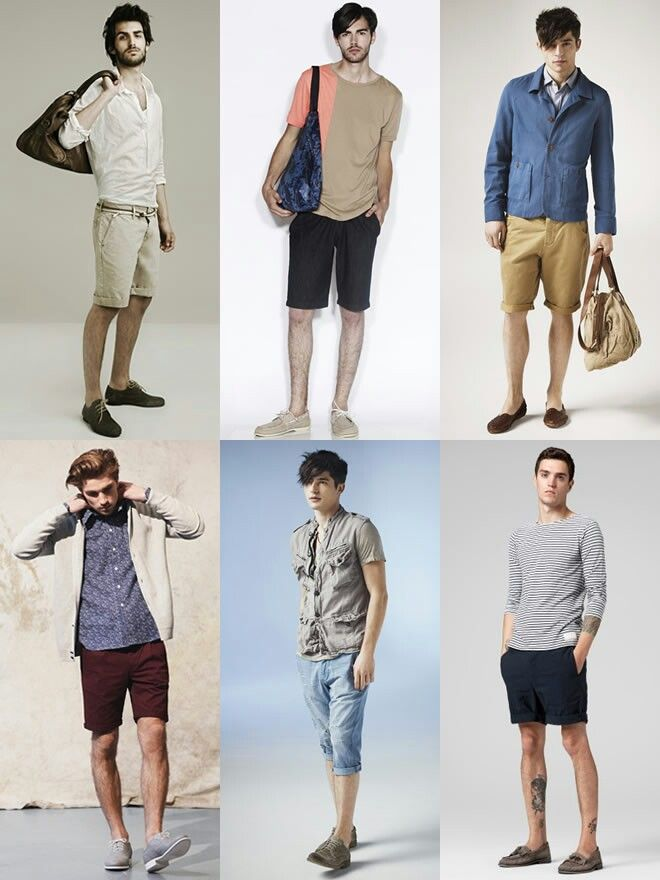 How to wear shorts with shoes for men | Ⓢ Style | Guys Guide ...
