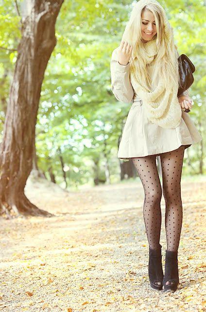 Kurze kleider zu leggings