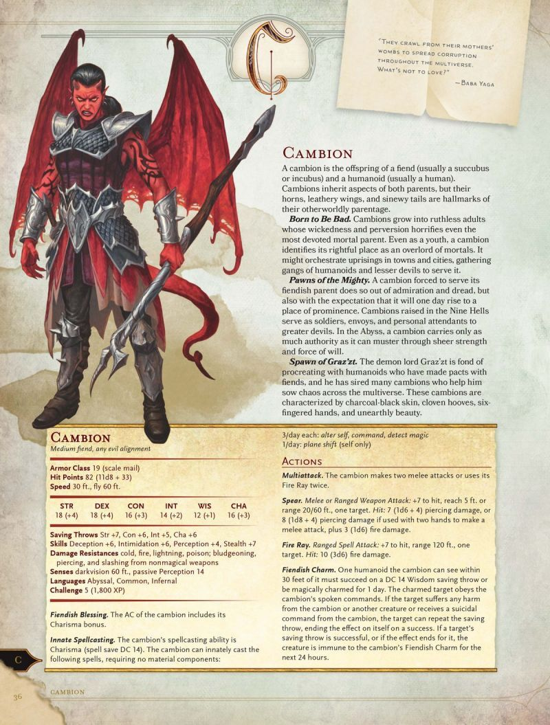 The D D 5th Edition Monster Manual Is A Cornucopia Of Classic Creatures Dungeons And Dragons Dungeons And Dragons Homebrew Dungeon