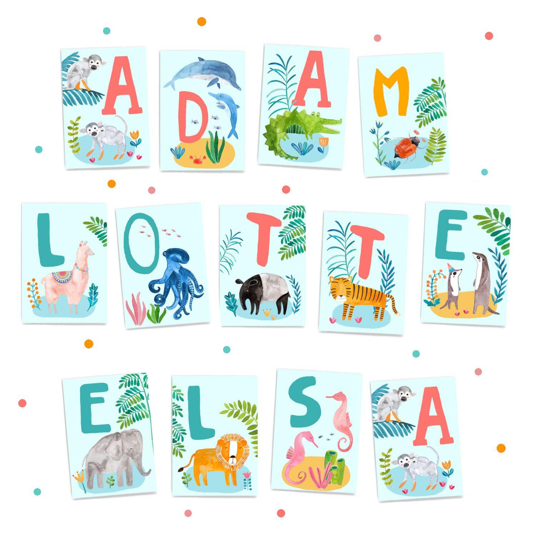 ABC Karten frauottilie abc buchstaben lernen lesen
