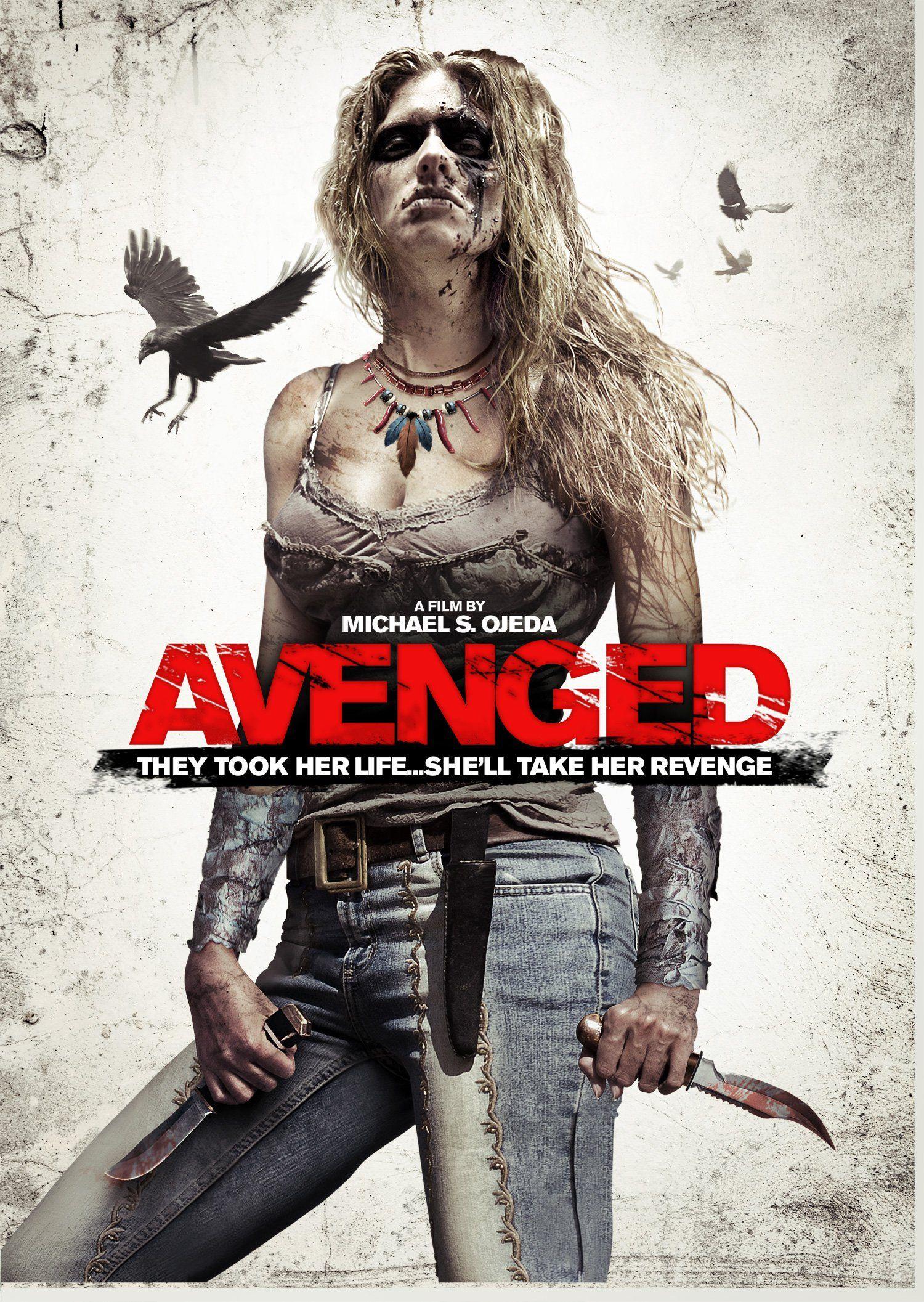 Avenged (2013) Movie in 2020 New movies, Horror movie