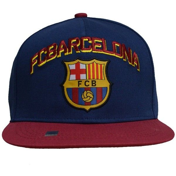 778ccdead4f Fc Barcelona Snapback Adjustable Cap Hat Blue Maroon -Red New Season (280  ARS) ❤ liked on Polyvore featuring accessories