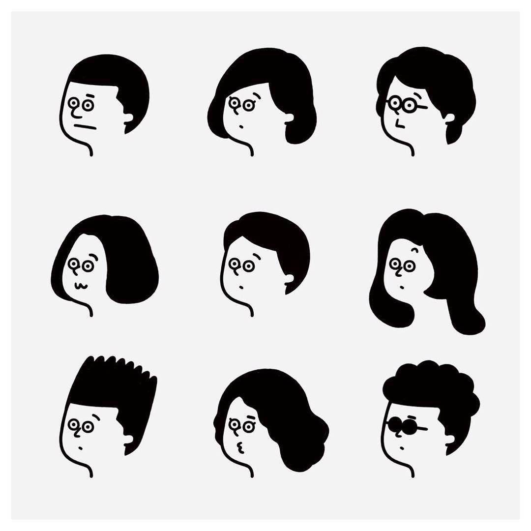 自分だけのキャラスタンプが作れるアプリ famchatty がリリースされました 僕も参加しています my style くまさんとエトセトラ 是非 チェックしてみてください new illustration character design graphic illustration illustration