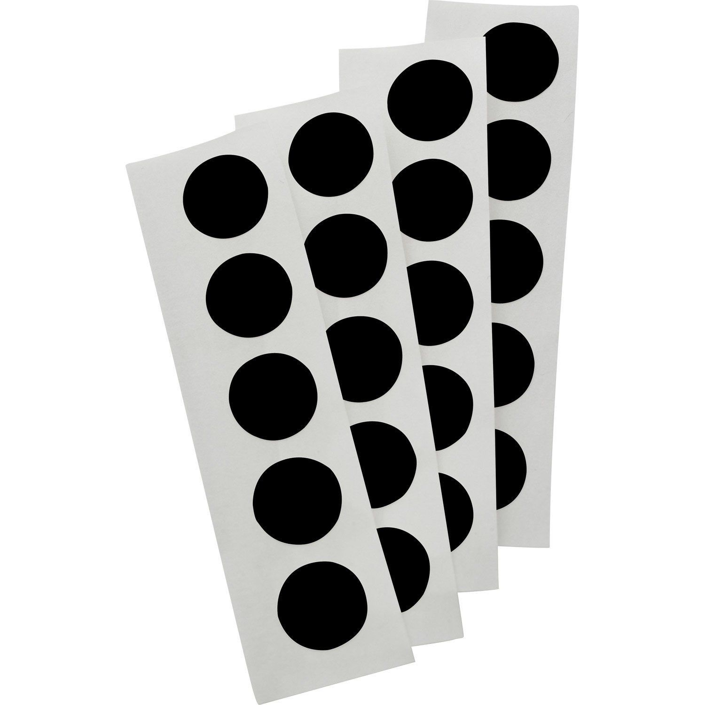 Lot De 100 Cache Vis Plastique Standers Diam 13 Mm Plastique Et Vis