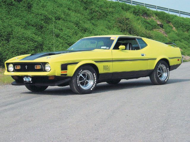 1972 Ford Mustang Mach 1 351  Cars Ive driven  Pinterest  Ford