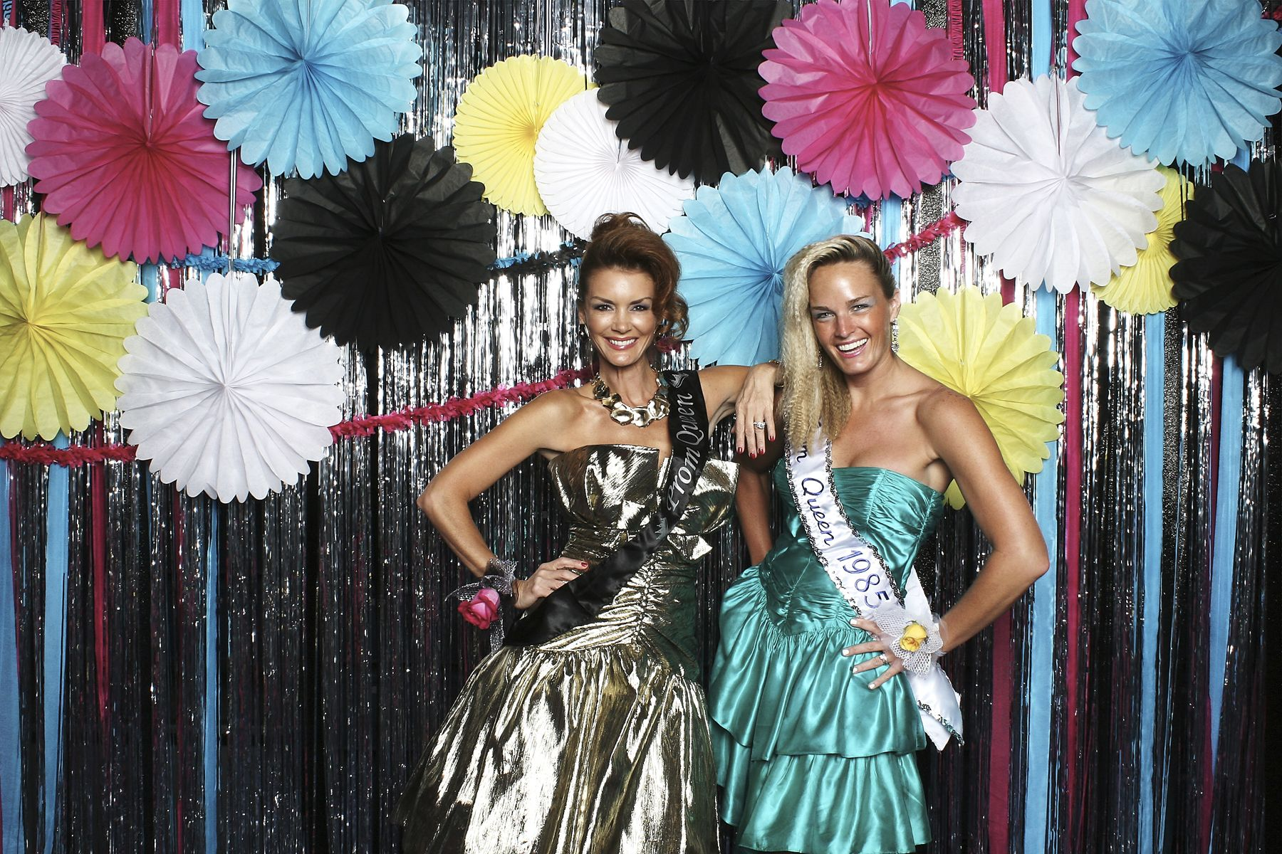 Working the 80 39 s prom theme in our photo booth more for 80s prom decoration ideas