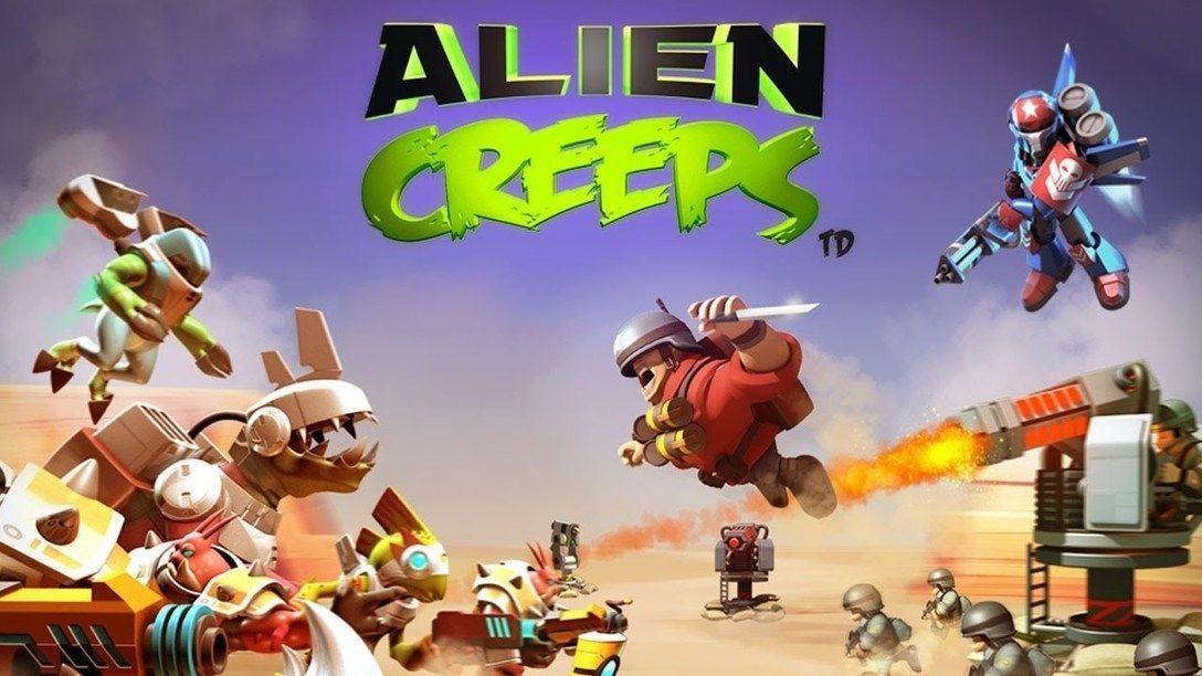 alien creeps td hack unlimited money gems mod apk