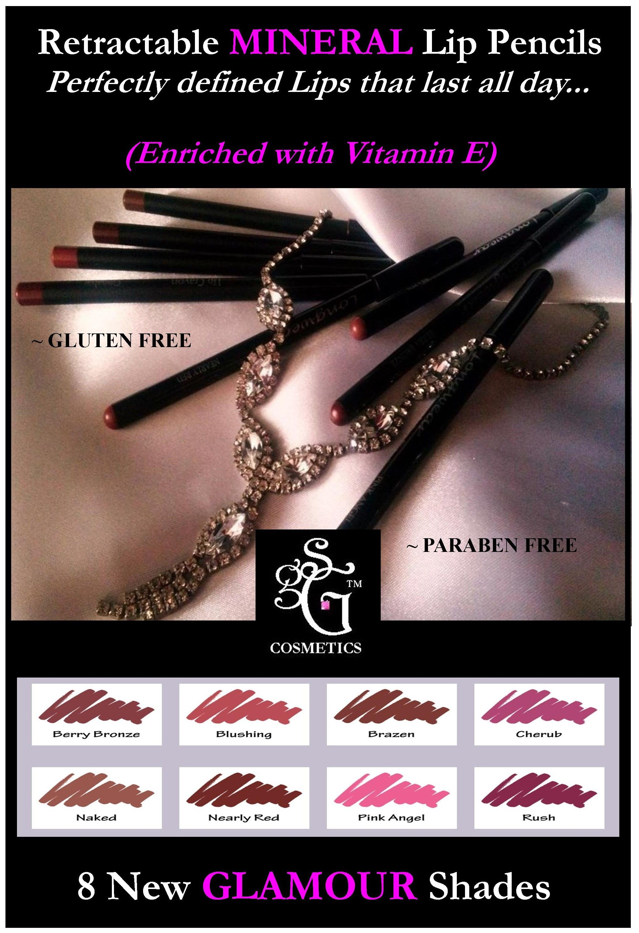 Pin by Glass Slipper GLAMOUR on ~ GSG Mineral Lip Pencils ...