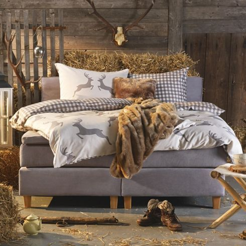 Boxspringbett Textil Jerry Betten Produkte Schlafzimmer In
