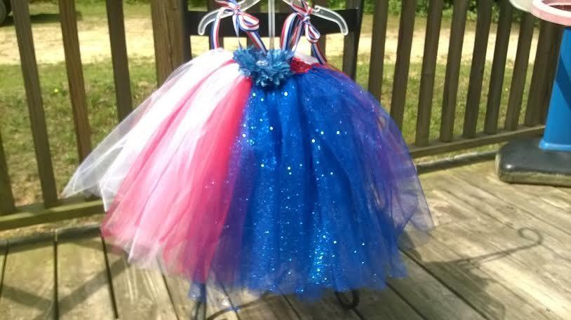 my first pageant tutu dress!