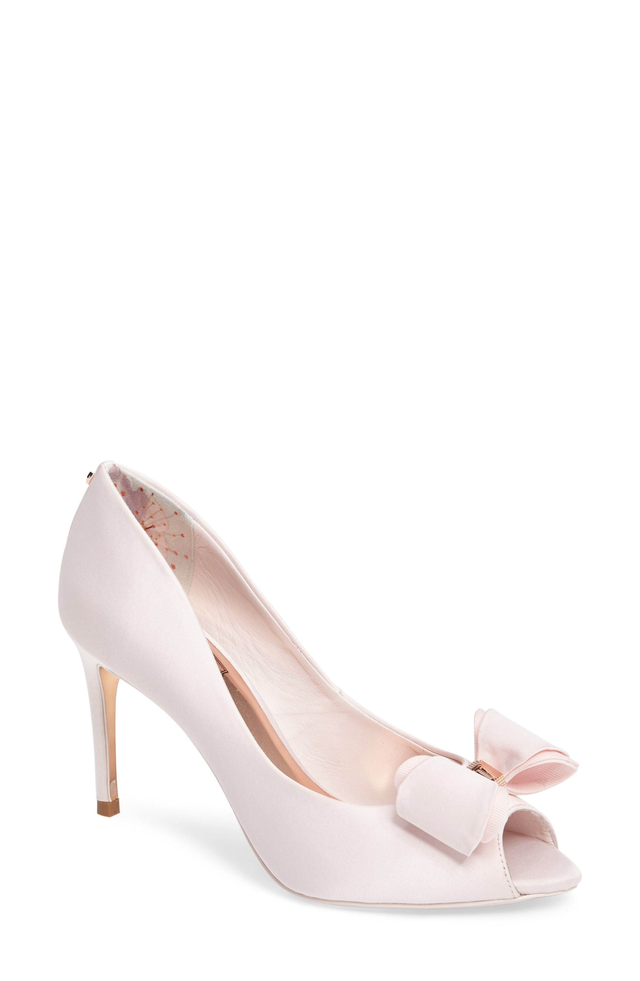 37f08715cb TED BAKER LONDON | Alifair Open Toe Pump #Shoes #Pumps #TED BAKER LONDON