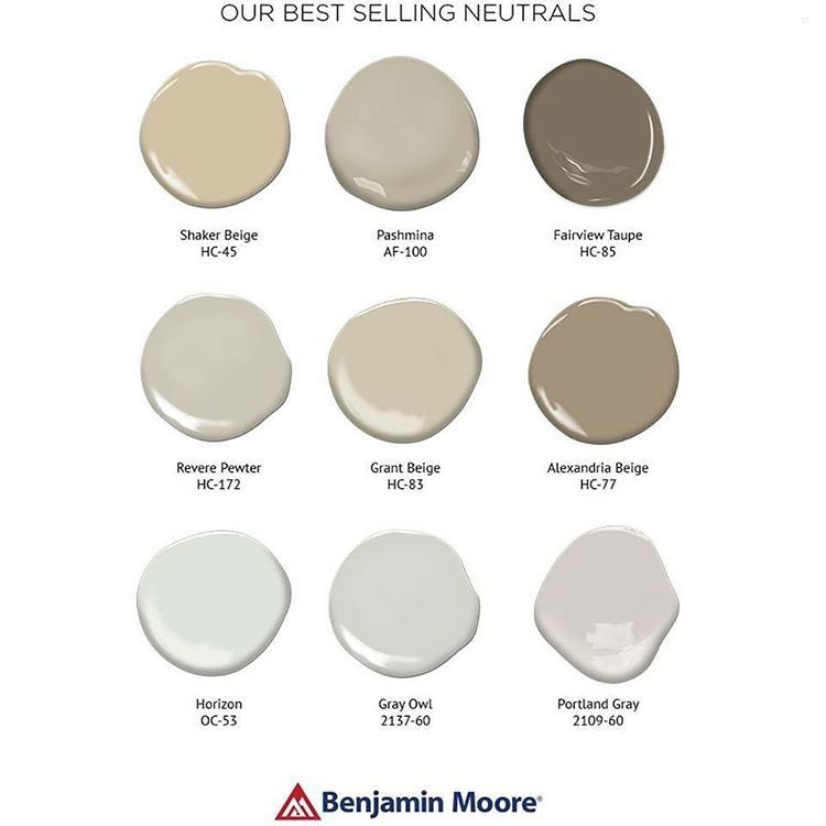I Get Asked A Lot About Neutral Paint Colors Seen On Walls And Their Names