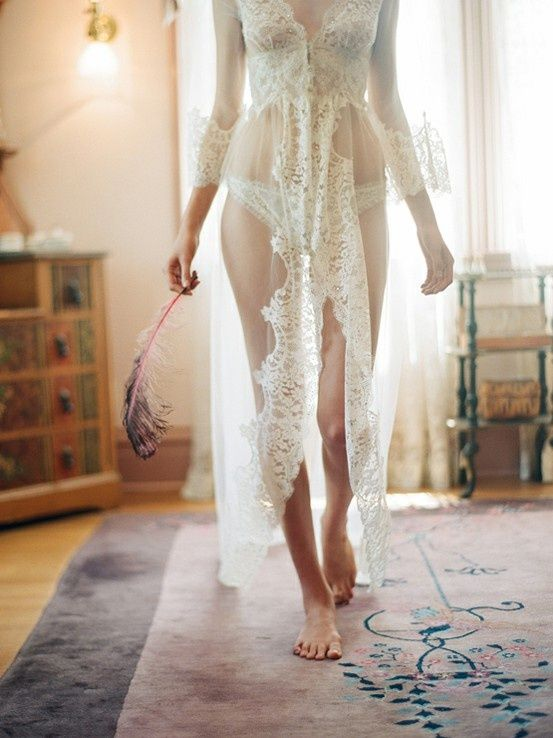 Attention Naughty Brides: How to make your wedding night lingerie ...