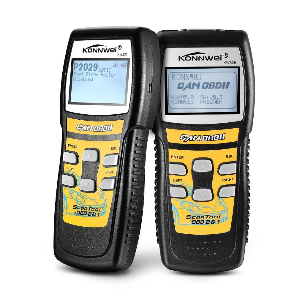 Excellent kw825 obd2eobd car diagnostics auto scanner