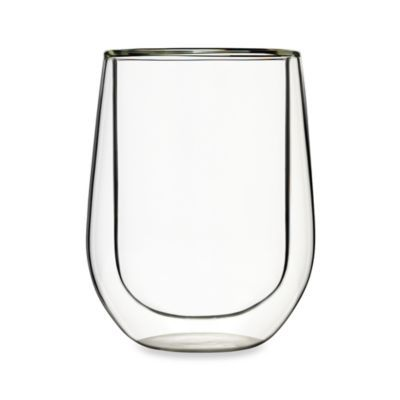 Luigi Bormioli Duos 14-Ounce Stemless Red Wine Glass (Set of 2) - BedBathandBeyond.com