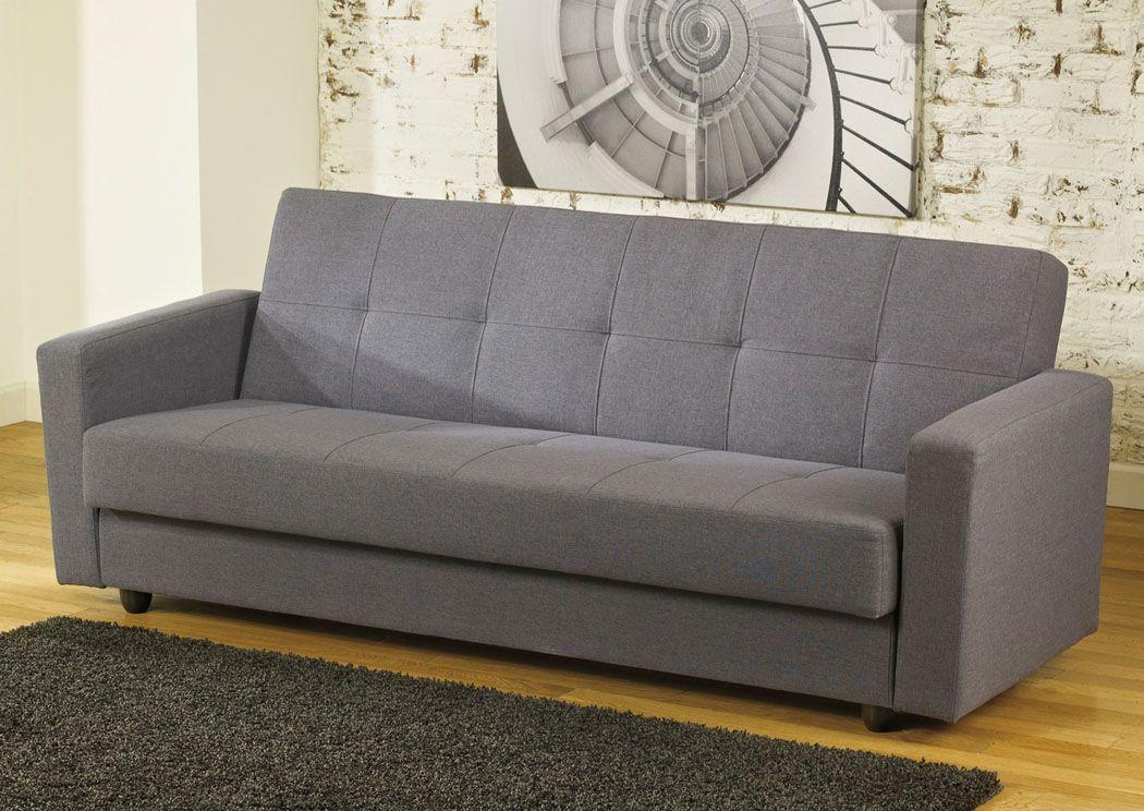 Pikka Gray Flip Flop Sofa, Jennifer Convertibles Sofa Bed